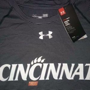 Mens Cincinnati Tee Shirt (Under Armour) LG